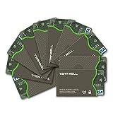 Amazon.co.jpTenn Well RFIDスリーブ, 10pcsスキミング防止カードケース (グレー)