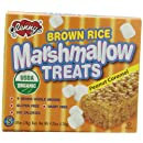 Glenny's Brown Rice Marshmallow Treats, Peanut Caramel, 5-Count Boxes (Pack of 6)