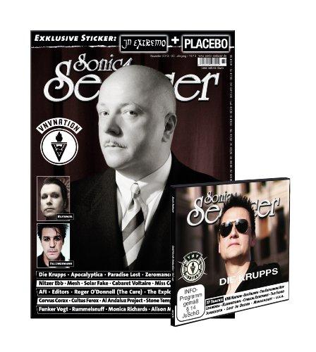 Sonic Seducer 11-13 mit VNV Nation Titelstory + CD mit über 70 Minuten Spielzeit, Bands: Die Krupps, Blutengel, Corvus Corax, Editors, Mesh, Nitzer Ebb u.v.m. + 2 Sticker (Placebo & In Extremo)