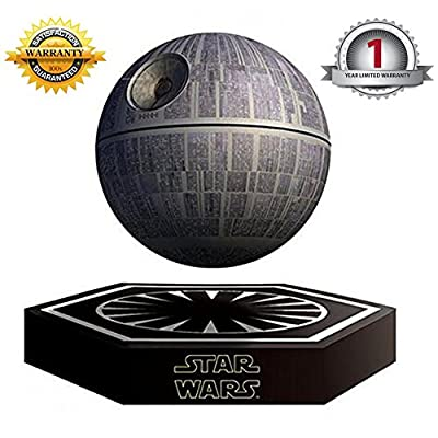 hellosy®Star Wars Death Star Levitating Speaker Bluetooth Wireless Portable Rechargeable High Quality Floating Sound System