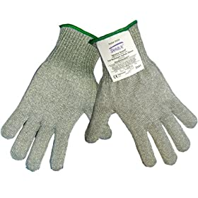 Global Glove CR336G Samurai 10 Gauge Seamless Knit Glove, Cut Resistant, Small (Case of 12)