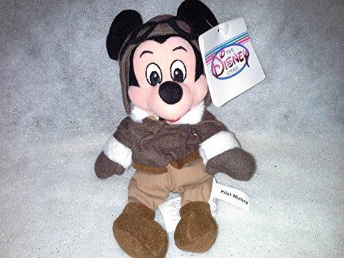 Pilot Mickey Beanie Baby - 1
