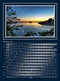 MoonShine Seascape – Moon Phases Calendar 2016