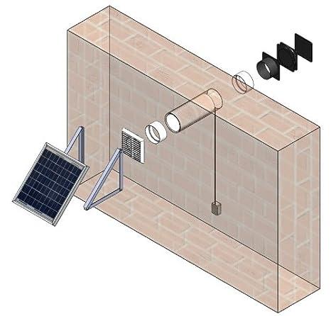 kit de ventilation 7w 12v avec fixations extracteur d. Black Bedroom Furniture Sets. Home Design Ideas