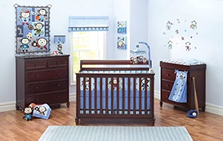 Summer Infant Team Monkey baby bedding