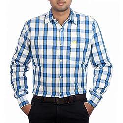 Aaduki Men's Casual Multi-Coloured Shirt-42