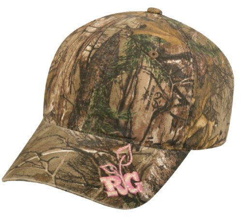 Buy Cheap Realtree Girl Hat, Pink & Xtra Camo Cap, Ladies Fit, Ponytail For Velcro Close