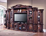 Parker House Grandview Deluxe X-pandable Plasma Entertainment Center with Multimedia Storage