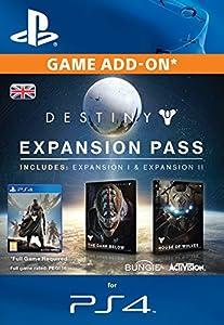 Destiny expansion pass ps4 online game code amazon co uk pc