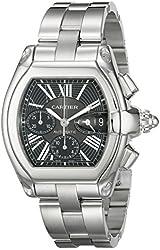 Cartier Men's W62020X6 Roadster Automatic Chronograph Watch