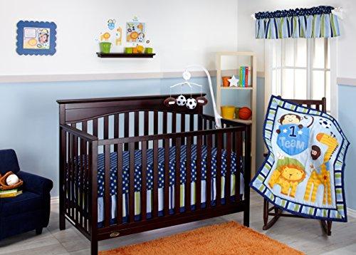 Little Bedding No.1 Team 10 Piece Crib Set - 1