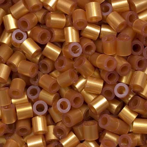 Perler Fun Fushion Beads 1000/Pkg-Gold