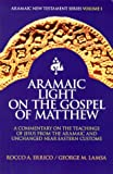 img - for Aramaic Light on the Gospel of Matthew book / textbook / text book