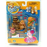 Zhu Zhu Pets Mini Figurine 4 Pack - Scoodles, Mr. Squiggles, Nugget & Jilly