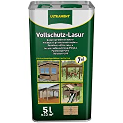 Barniz de protección total 7 en 1 para madera de pino (5 L)