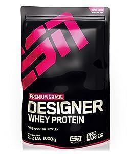 ESN Designer Whey Protein,  Pro Series, Natural, 1er Pack (1 x 1000g Beutel)