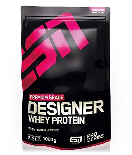 ESN Designer Whey Protein, Pro Series, Vanilla, 1er Pack (1 x 1000g Beutel)