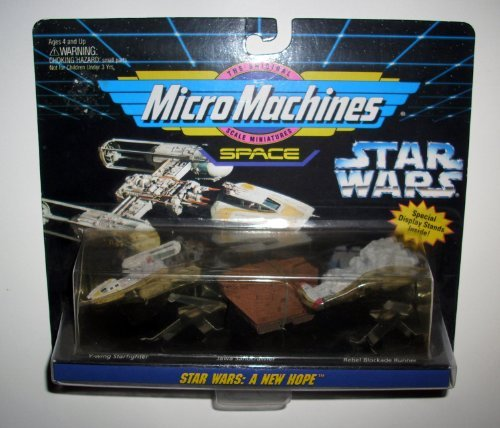 STAR WARS MICRO MACHINES SPACE VEHICLES - 1