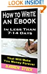 HOW TO WRITE A BOOK: In Less Than 7-...