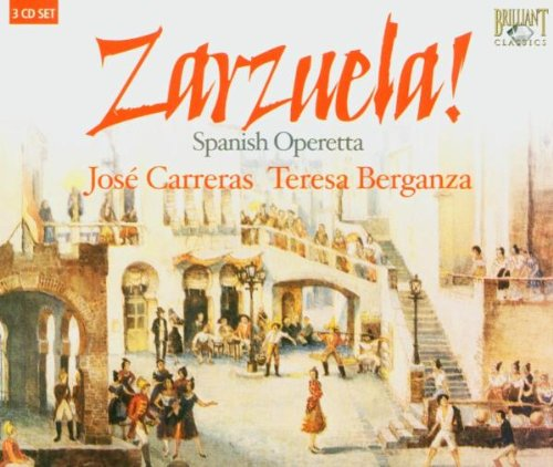 Zarzuela Festival (Carreras - Berganza)- Various artist - CD