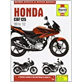 Honda CBF125 Service and Repair Manual: 2009 to 2011 (Haynes Service and Repair Manuals)by Phil Mather