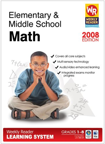 Weekly Reader Mastering Elementary/Middle School Math Learning - 1
