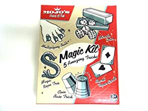 Magic Kit 5 Amazing Tricks Multiplying Balls Magic Rope Miracle Dice Coin Base
