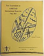 Test excavations at Amistad International…