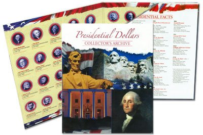Presidential Dollars Collector's Archive - $1 Coin Collection