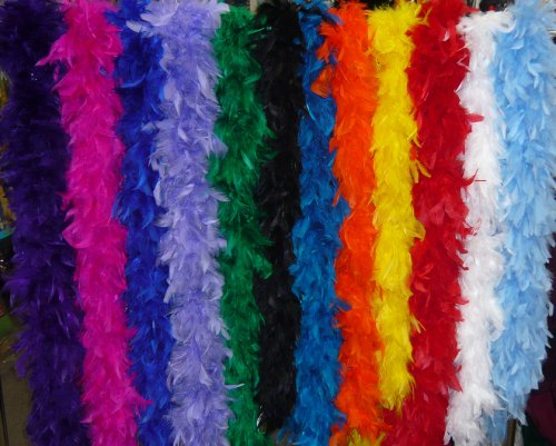 Chandelle Feather Boa 80 Gram Costume Boa 9022