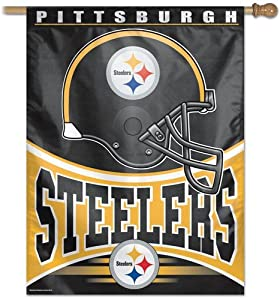 Steelers WinCraft Vertical Flag by WinCraft