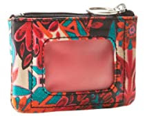 Fossil Key-Per Id Zip Coin Sl4178919 Color: Floral Wallet