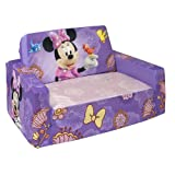 Marshmallow Fun Furniture Flip Open Sofa with Slumber - Disneys Minnie Mouse