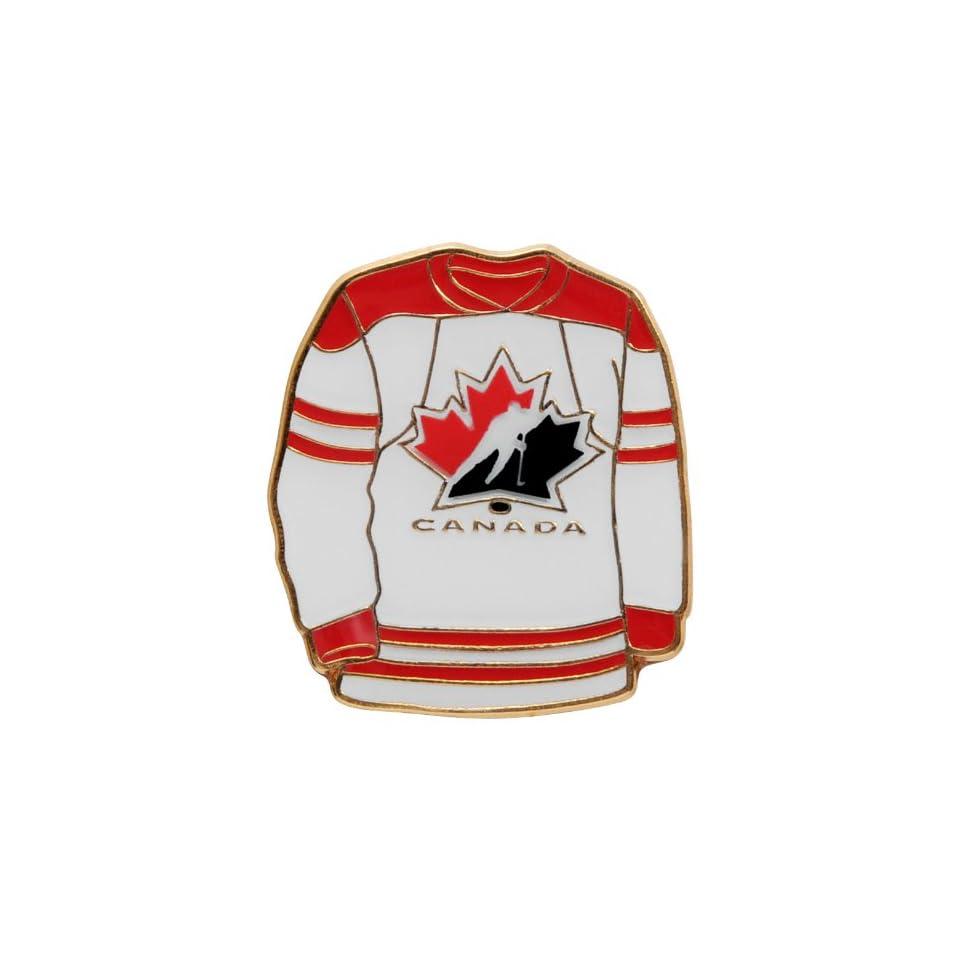 Team Canada Hockey White Jersey Pins