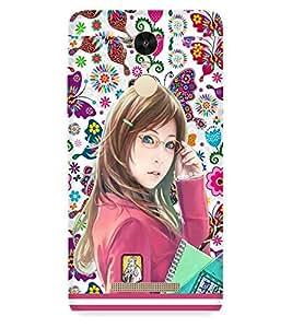 PRINTSWAG COLLEGE GIRL Designer Back Cover Case for Xiaomi Redmi Note 3