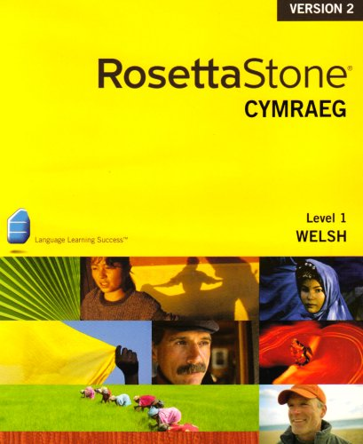Rosetta Stone V2  Welsh Level 1 Personal Edition (Mac/PC)