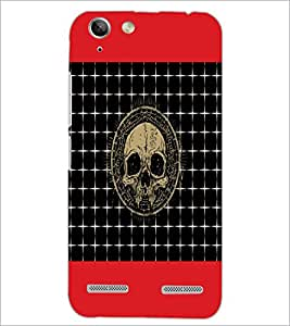 PrintDhaba Skull D-4743 Back Case Cover for LENOVO LEMON 3 (Multi-Coloured)