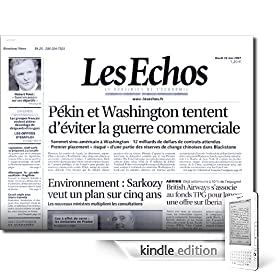 Les Echos Kindle Edition