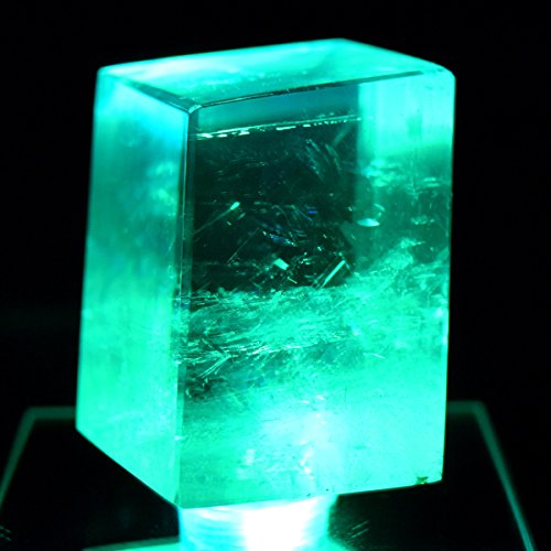 44mm-rainbow-optical-calcite-crystal-w-led-light-base-double-refractive-transparent-iceland-spar-ice