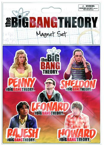 1 X Big Bang Theory Flat Magnet Sheet (Big Bang Theory Fridge Magnet compare prices)