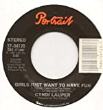 Girls Just Want To Have Fun / Right Track Wrong Train (1983 45rpm)