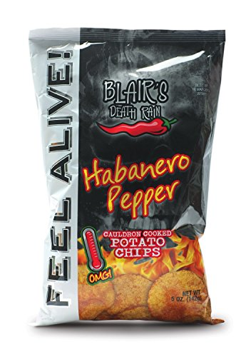Blair's Death Rain - Habanero Chips, 2er Pack (2 x 142 g)