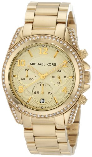 Michael Kors Golden Runway Watch  Glitz MK5166