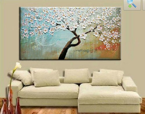 100% Hand-Painted Best-Selling Quality Goods Free Shipping Wood Framed On The Back Knife Painting Walk Under The Street Light Series High Q. Wall Decor Landscape Oil Painting On Canvas 4Pcs/Set Mixorde