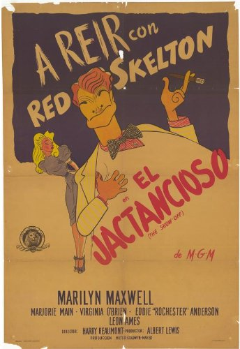 the-show-off-poster-27-x-40-inches-69cm-x-102cm-1946-argentine