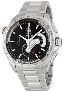 TAG Heuer Men's CAV5115.BA0902 Grand Carrera Automatic Chronograph Black Dial Watch