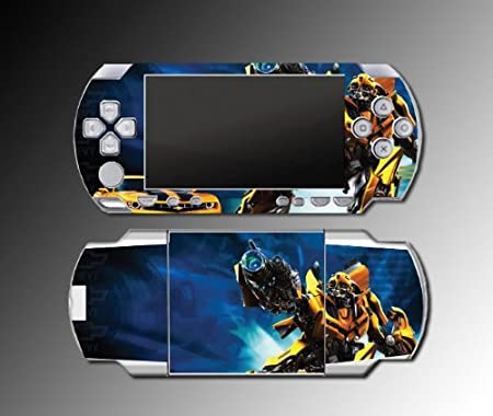 Transformers Bumblebee Camaro SS Autobots Decal Cover SKIN #14 for Sony PSP 1000 Playstation Portable