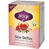 Yogi Tea, Skin Detox, Caffeine Free, 16 Tea Bags, 1.02 oz (29 g)