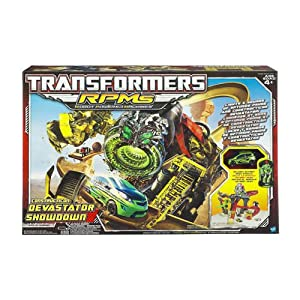 Transformers RPM Devastator Showdown Track Set