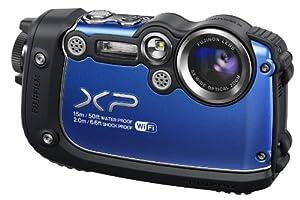Fujifilm XP200 FinePix Digital Camera - Blue (16MP, 5x Optical Zoom) 3 inch LCD